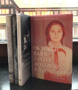 Linda Boström Knausgård, Oktoberbarn, skandinavisk litteratur