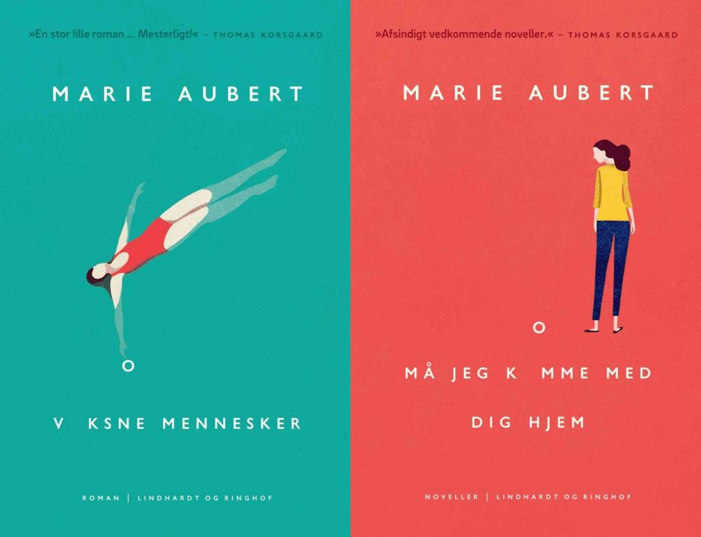 Marie Aubert, Voksne mennesker, må jeg komme med dig hjem, norsk litteratur