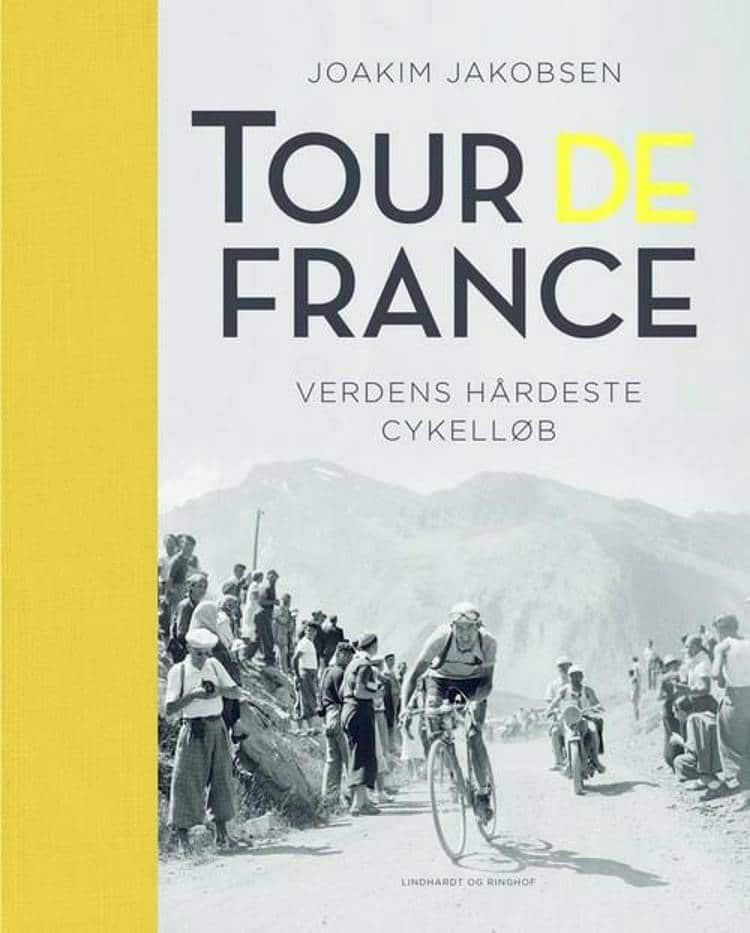 Tour de France, cykelløb, bog om cykelløb, Joakim Jakobsen