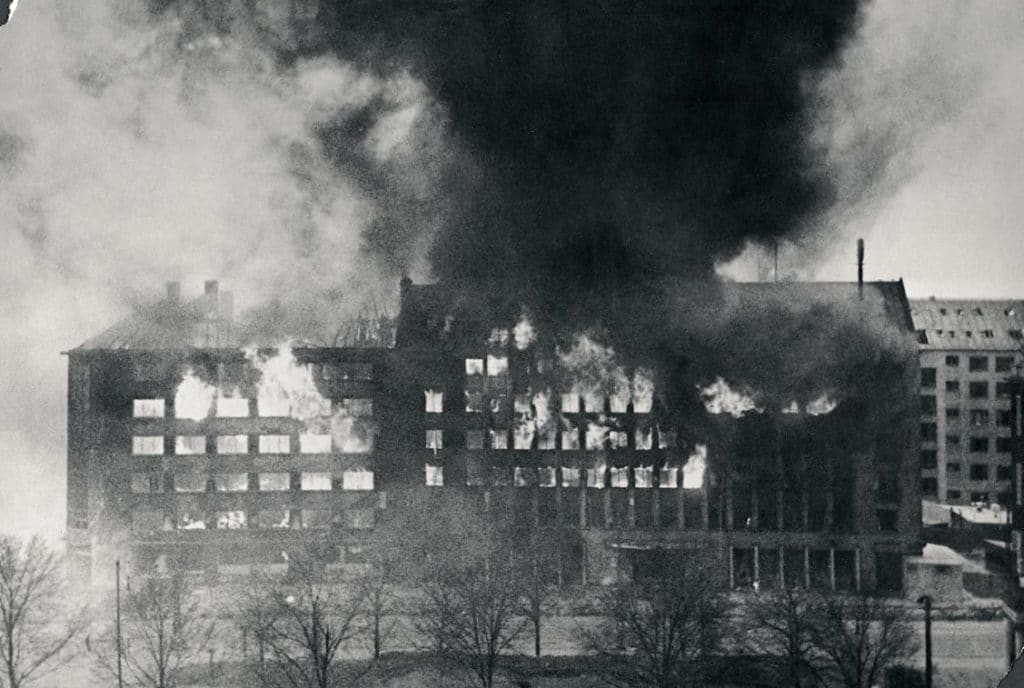 shellhuset, bombemål shellhuset, anden verdenskrig, den franske skole, 21. marts, Christian Aaagaard