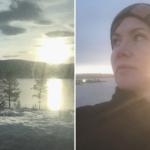 På udebane en slags hjemme. Rejsereportage fra Norge