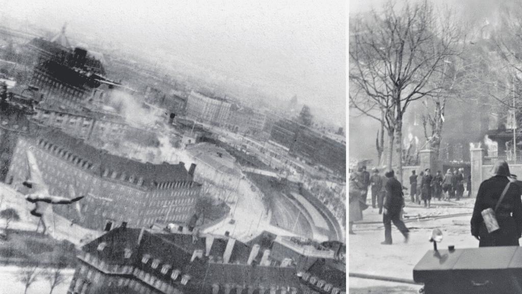 shellhuset, bombemål shellhuset, anden verdenskrig, den franske skole, 21. marts