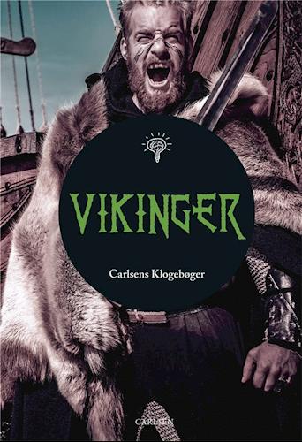 Carlsens klogebøger, vikinger, børnebog om vikinger