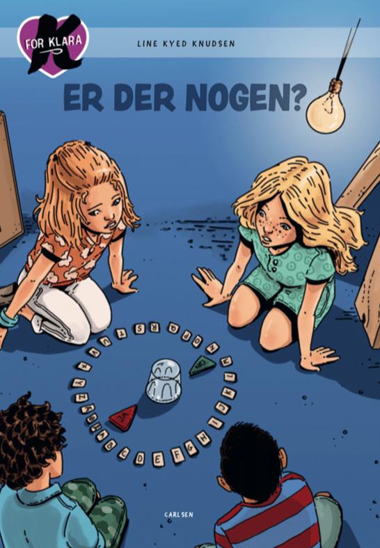 K for Klara, Line Kyed Knudsen, Er der nogen?