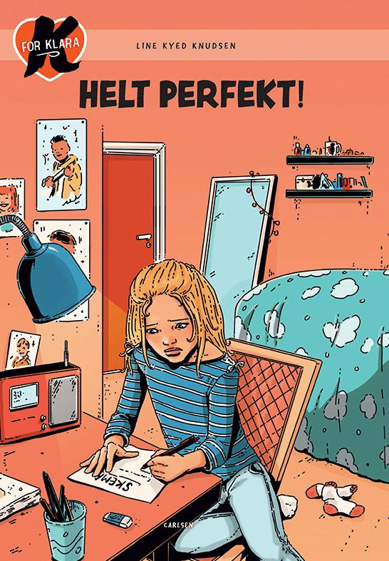K for Klara, line Kyed Knudsen, Helt Perfekt!