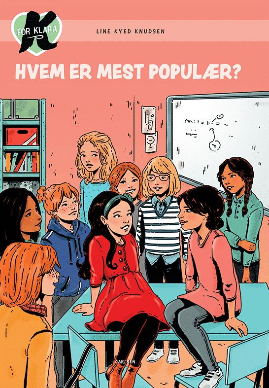 K for Klara, Line Kyed Knudsen, Hvem er mest populær
