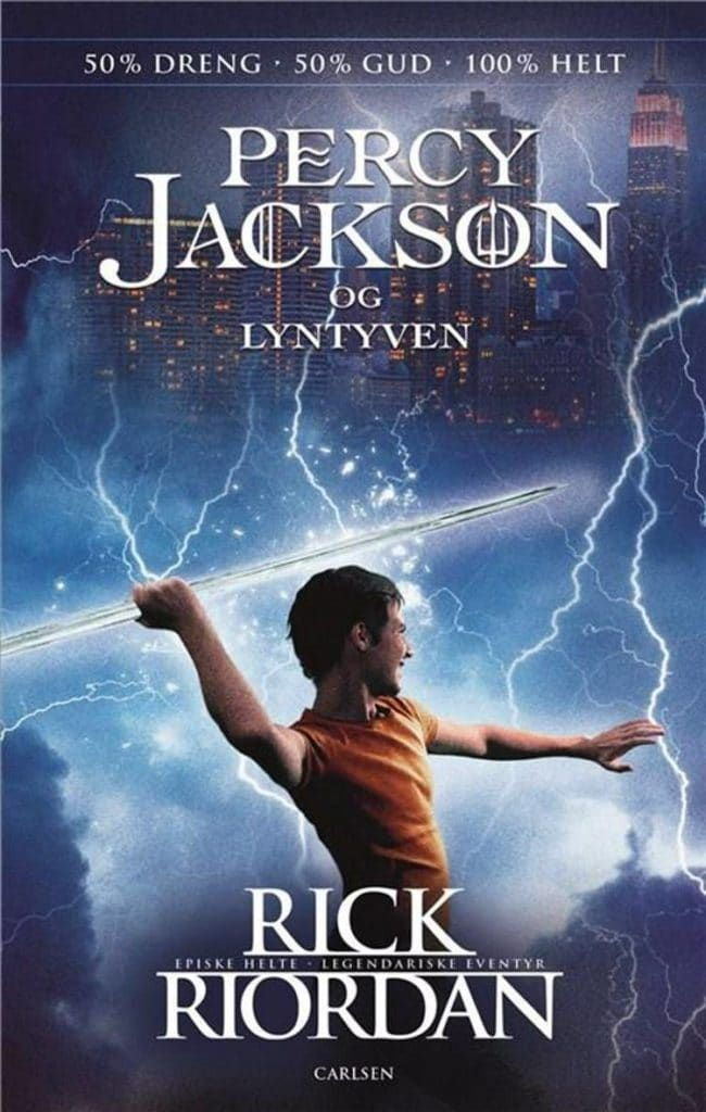 Percy Jackson, Lyntyven, Rick Riordan