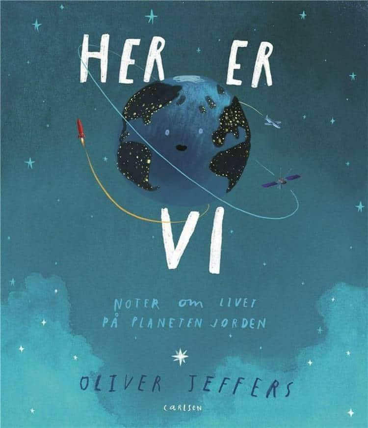 Her er vi, Oliver Jeffers, bøger til børn