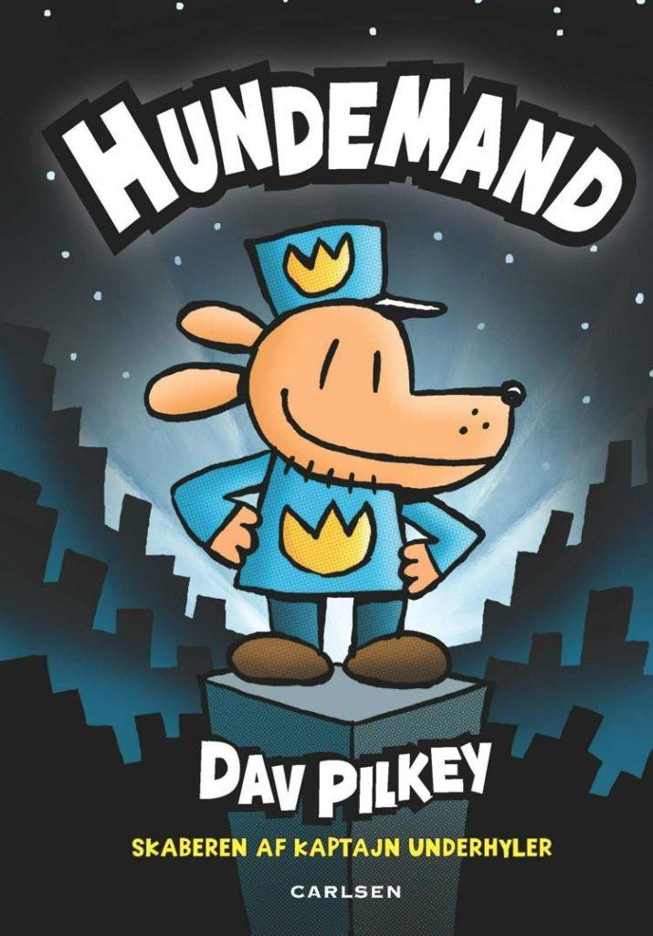 bøger til børn, Hundemand, Dav Pilkey