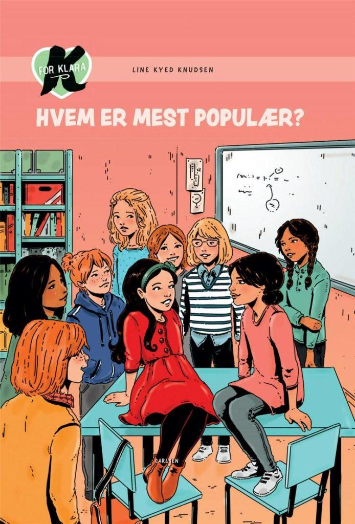 K for Klara, Line Kyed Knudsen, Hvem er mest populær?, bøger til børn