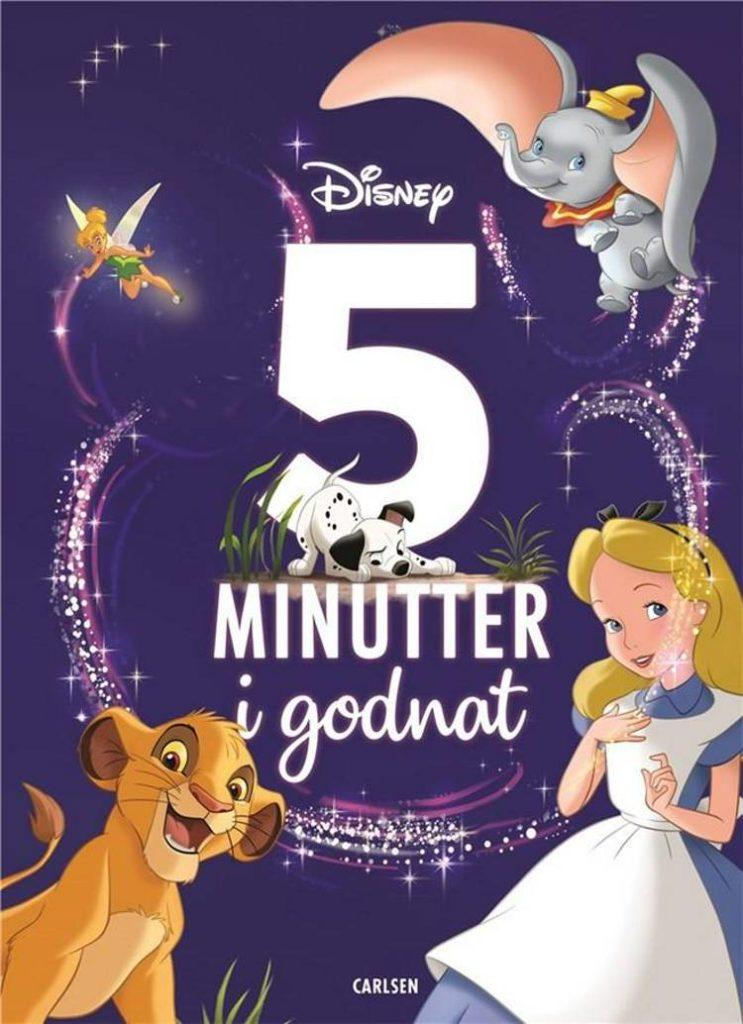 5 minutter i godnat, Disney, bøger til børn