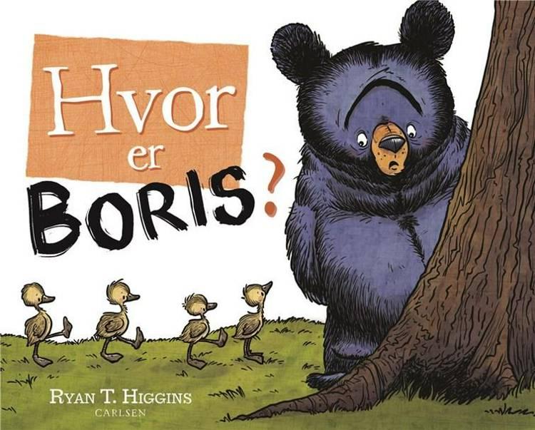 Hvor er Boris?, Ryan T. Higgins, bøger til børn