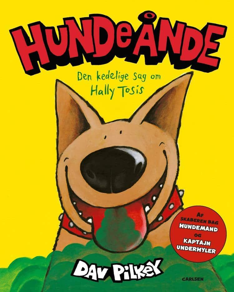 bøger til børn, Hundeånde, Dav Pilkey