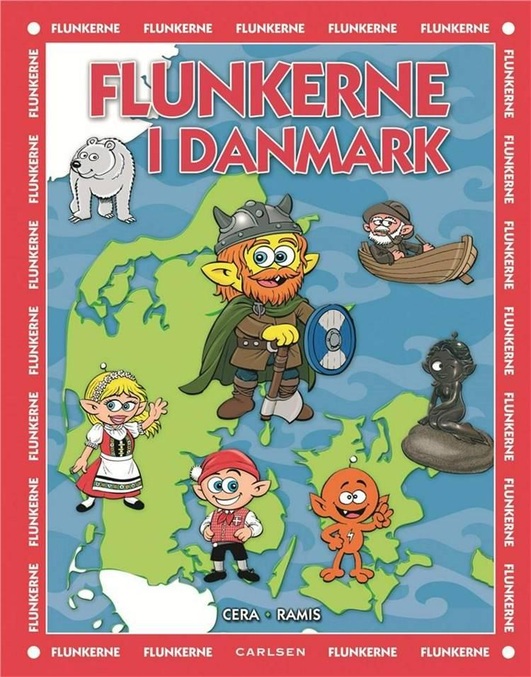 Flunkerne, Flunkerne i Danmark, bøger til børn