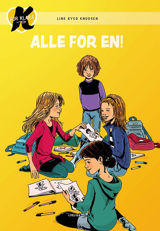 K for Klara, Line Kyed Knudsen, Alle for en!