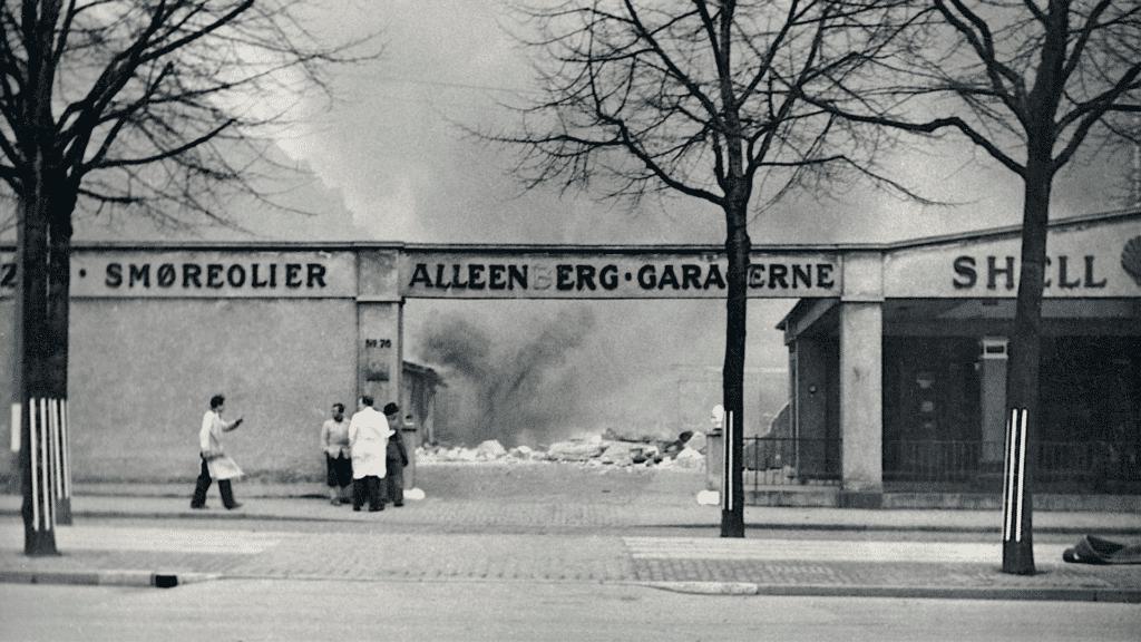 Bombemål Shellhuset, Anden Verdenskrig