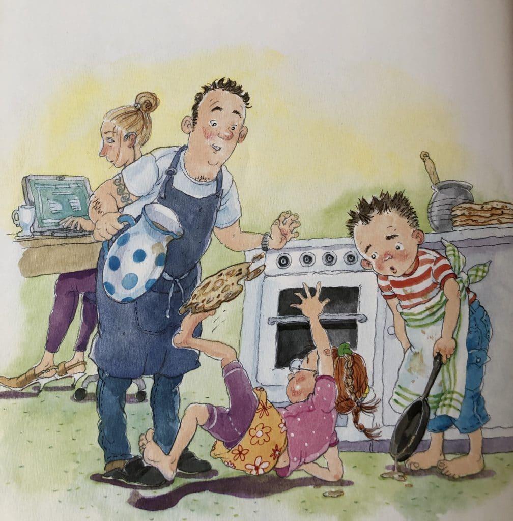 Familien von Hansen, fædre