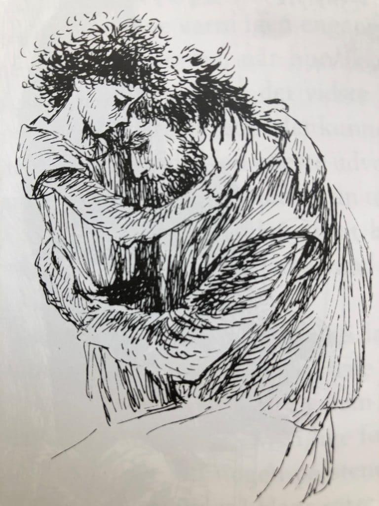 Ronja Røverdatter, Astrid Lindgren, fædre