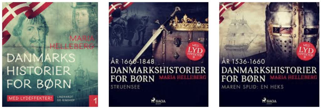 Danmarkshistorier for børn,
