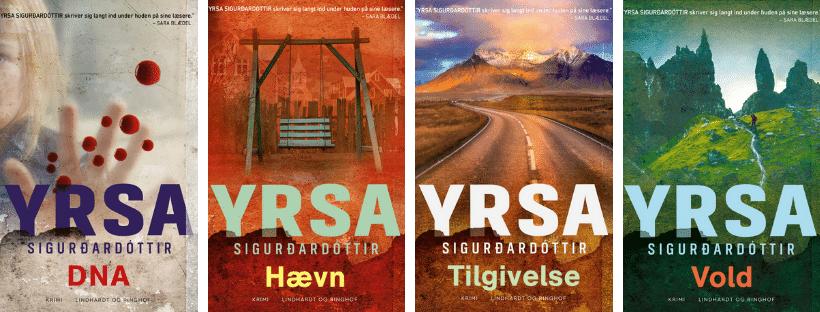 Yrsa, Yrsa sigurdardottir, dukken, vold, dna, hævn, tilgivelse, Huldar og Freyja