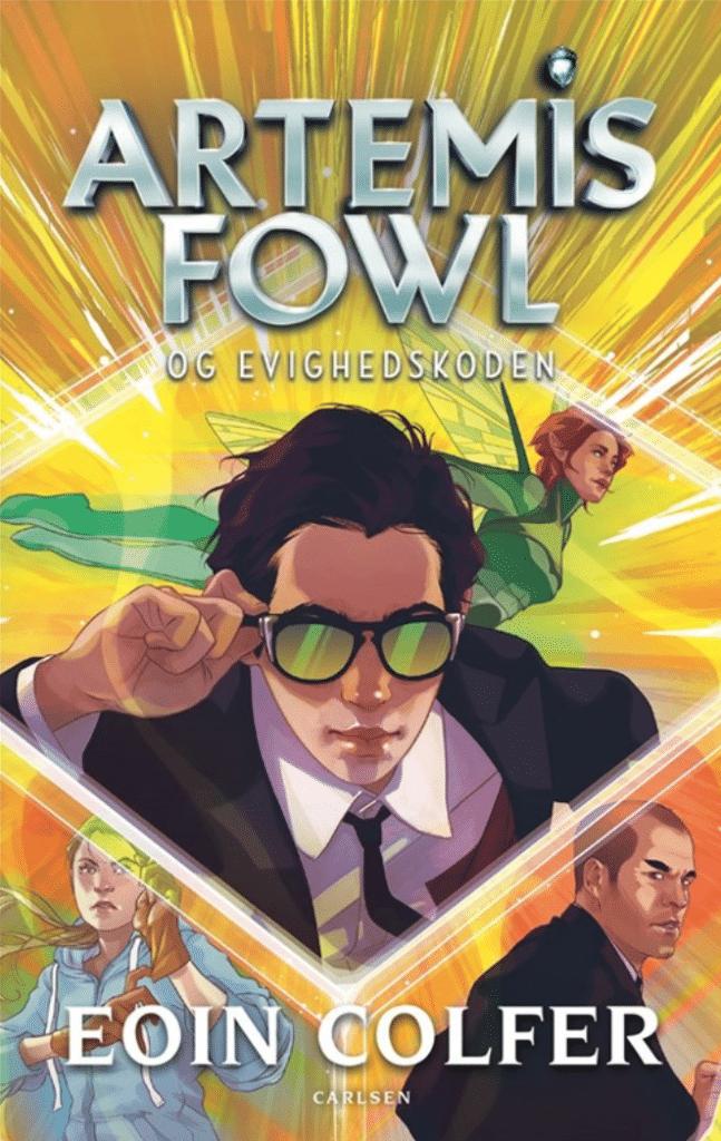 Artemis Fowl, Eoin Colfer, Artemis Fowl og evighedskoden
