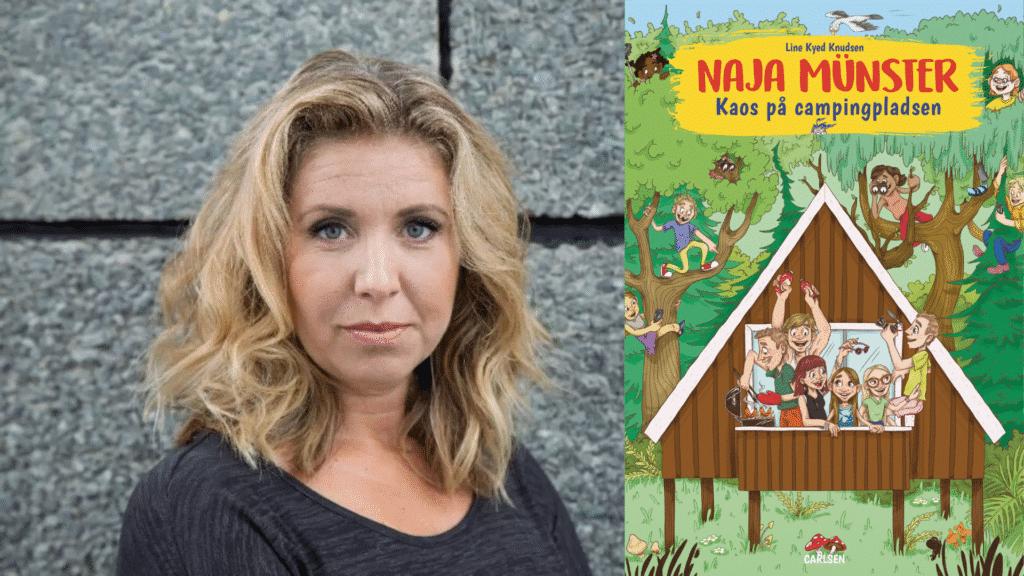 Naja Münster bøgerne, Line Kyed Knudsen