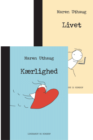 Striber på højkant af Maren Uthaug, kærlighed, livet