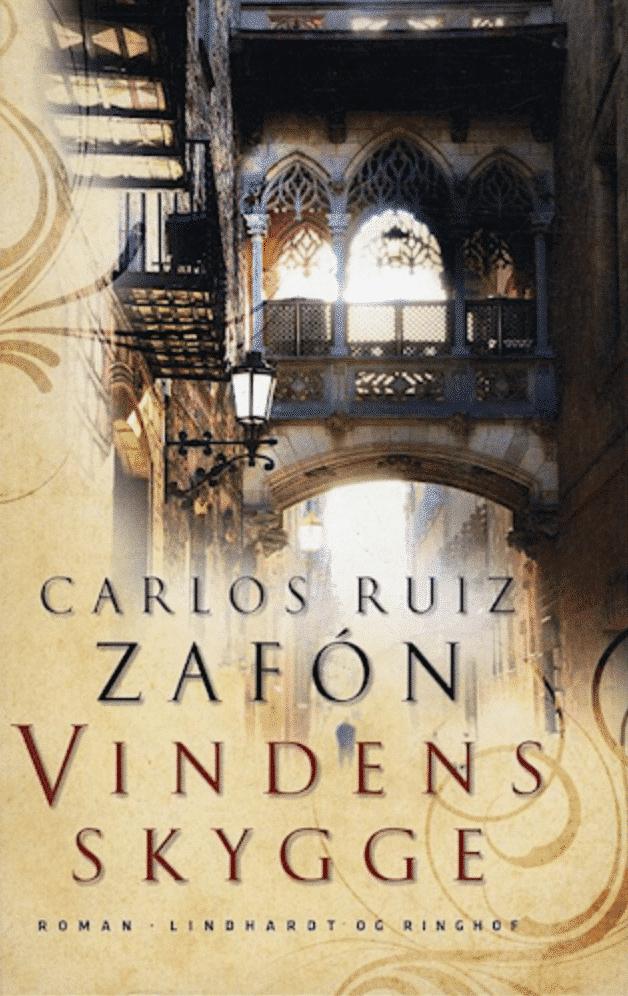 Vindens skygge, Carlos Ruiz Zafón, roman