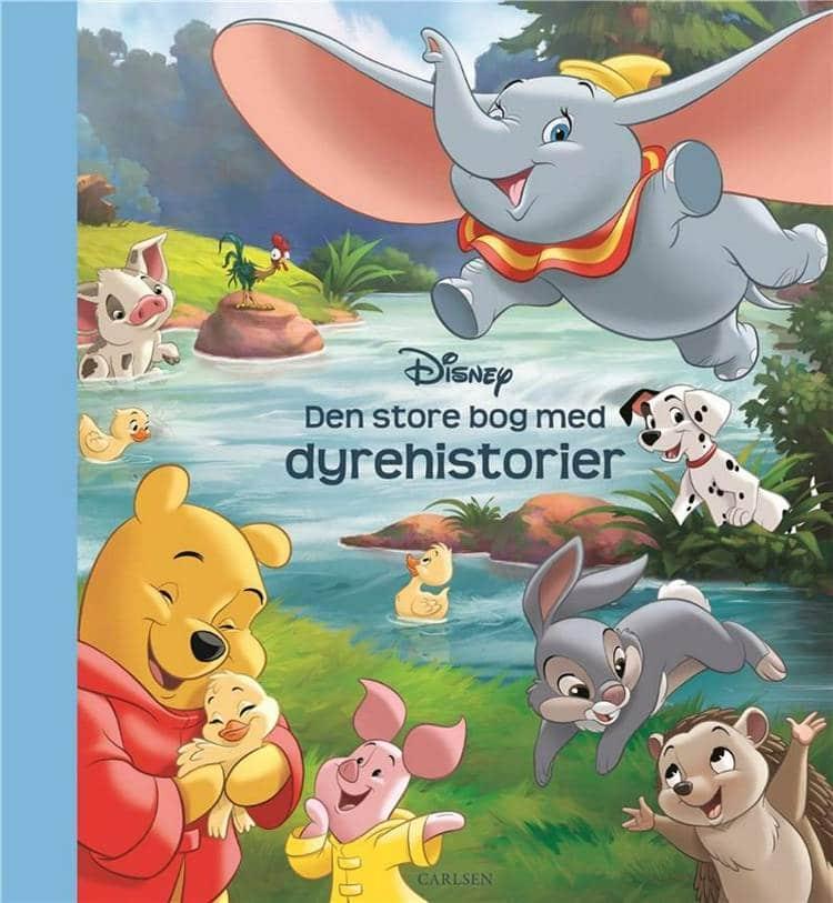 Den store bog med dyrehistorier, Disney, bøger om dyr