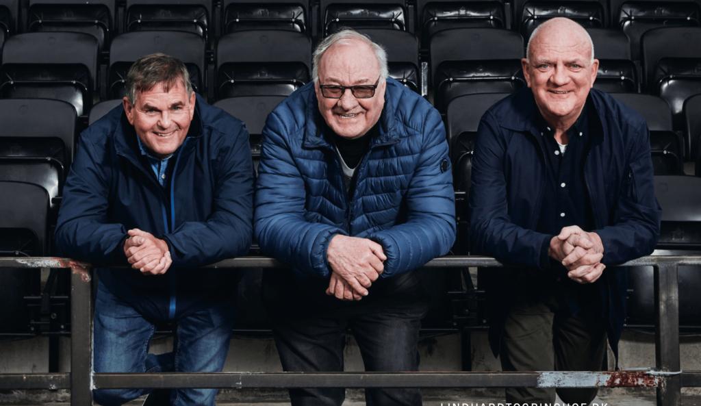 Flemming Toft, Carsten Werge, Svend Gehrs, fodbold