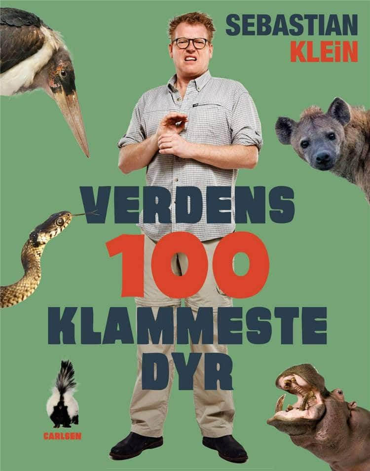 Verdens 100 klammeste dyr, Sebastian Klein, klamme dyr