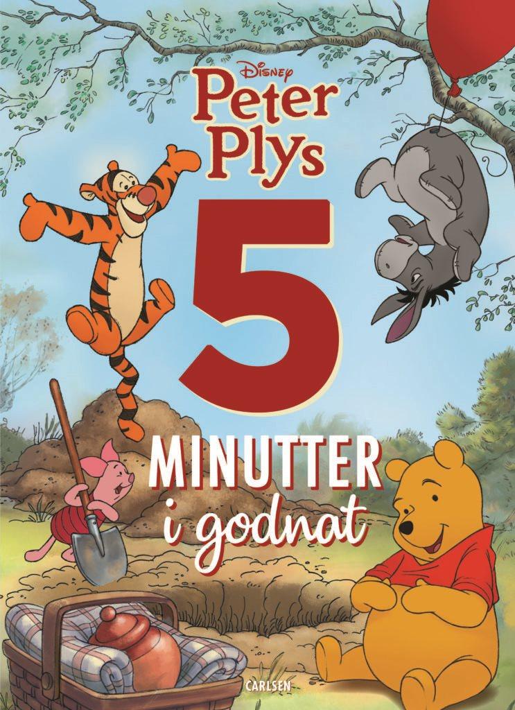 5 minutter i godnat, godnathistorier, Peter Plys