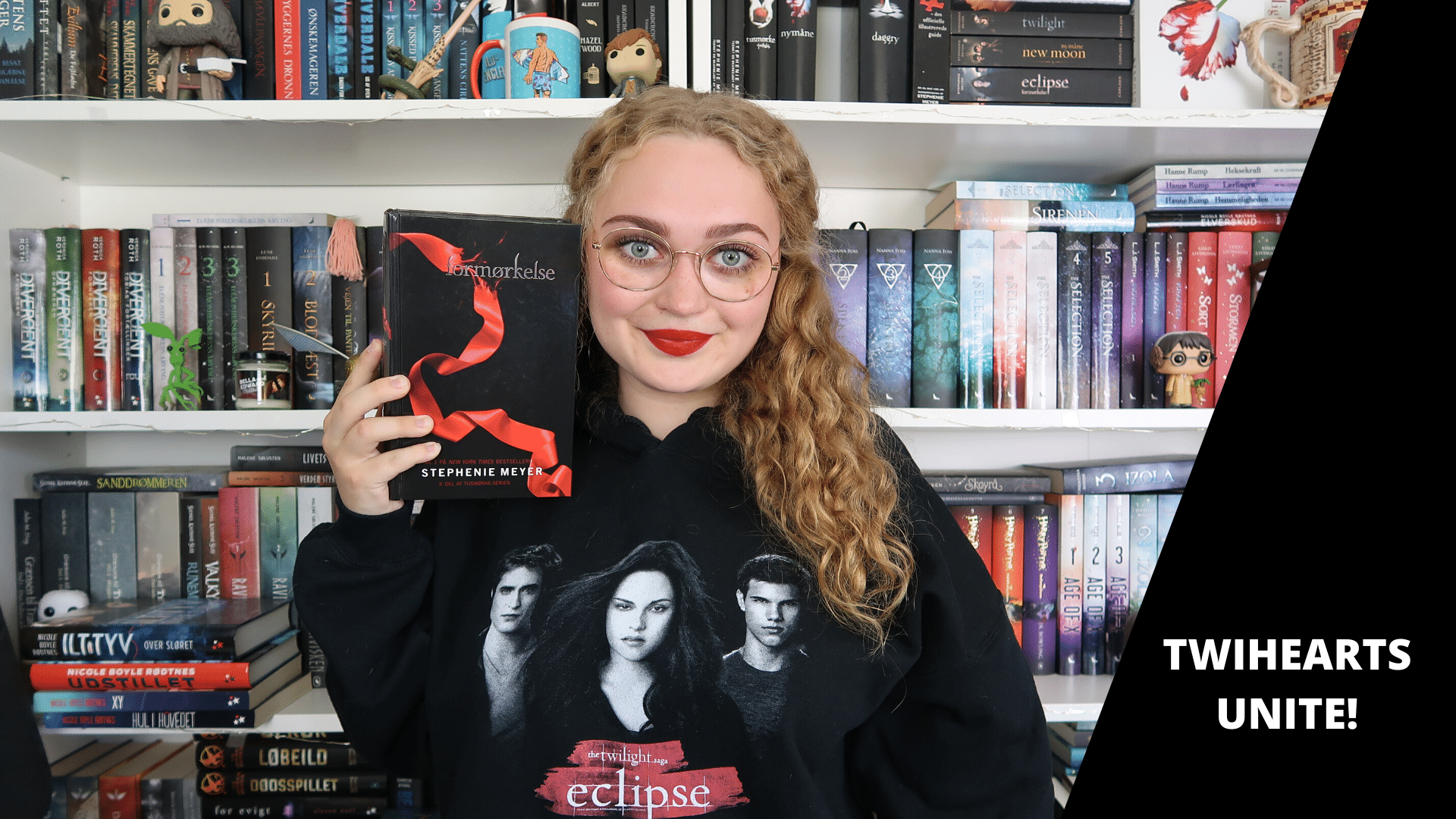 Stephenie Meyer, Twilight, Twilight sagaen, YA, young adult, vampyr, kærlighed, ungdomsbog