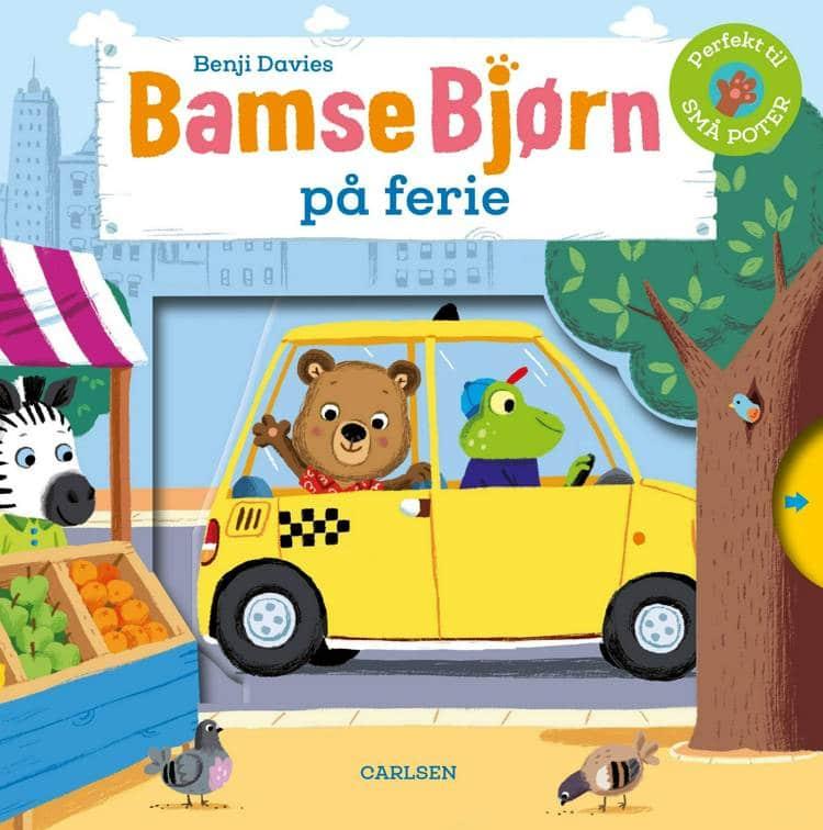Bamse Bjørn, Bamse Bjørn på ferie, Benji Davies