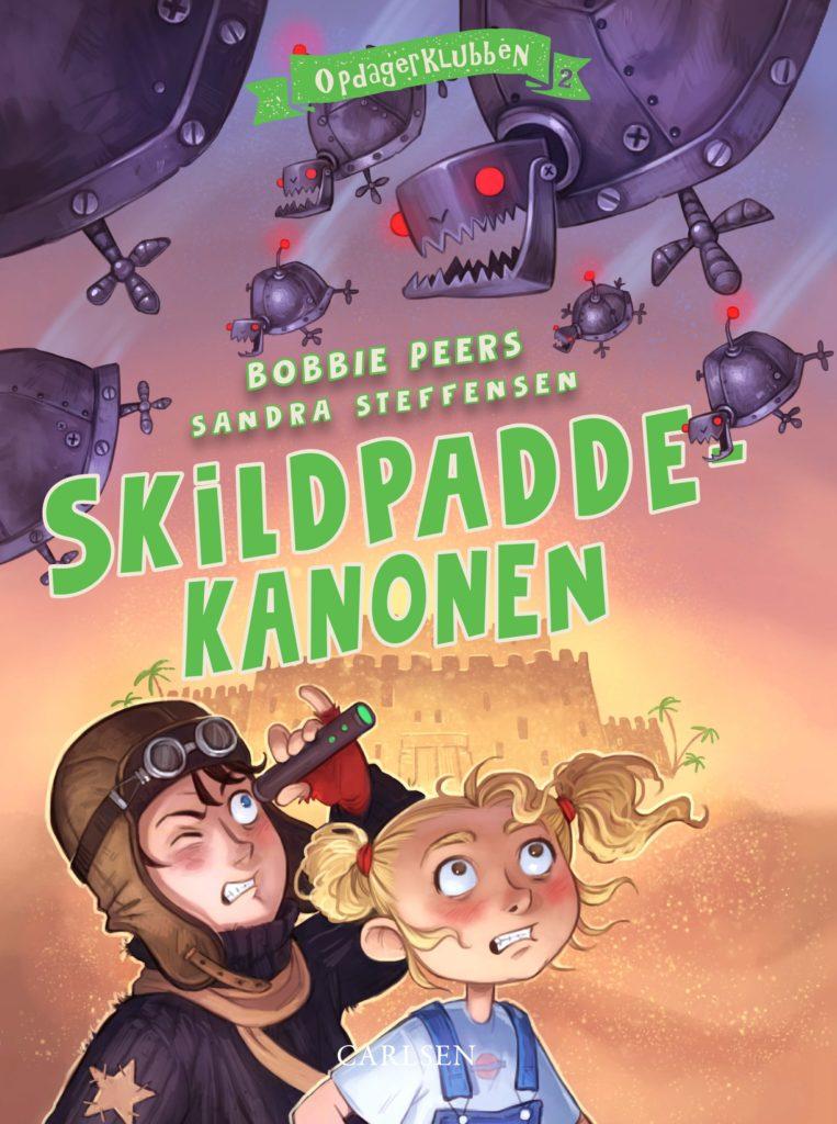 Opdagerklubben, Skildpaddekanonen, Bobbie Peers, børnebog, børn på eventyr