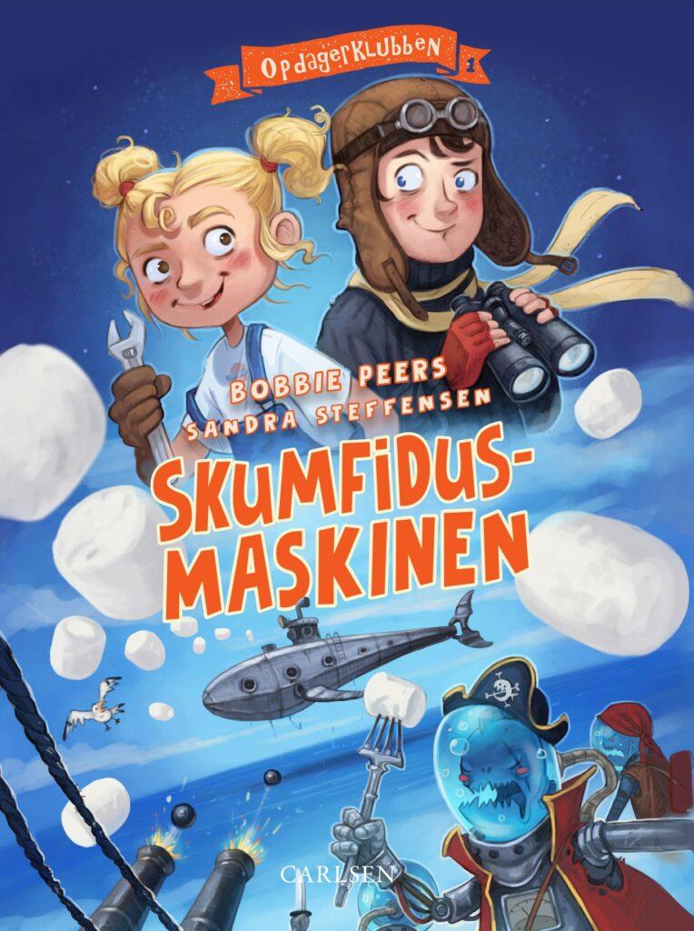 Opdagerklubben, Skumfidusmaskinen, børnebog, børnebøger