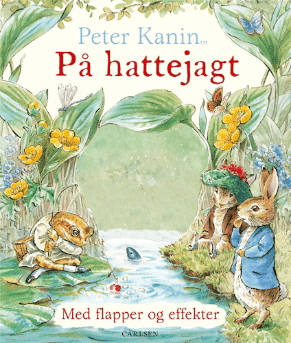 Peter Kanin, hattejagt, papbog, Beatrix Potter