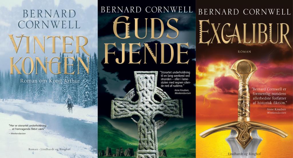 Vinterkongen, Excalibur, Bernard Cornwell, Guds fjende, Krigsherre, krigsherre-trilogien