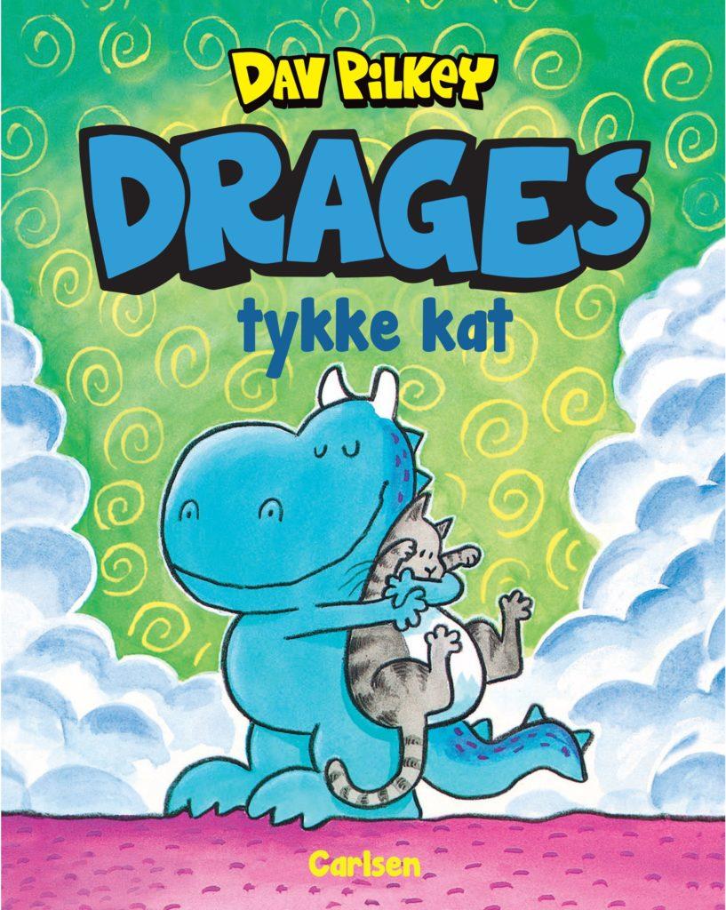 Drages tykke kat, Dav Pilkey, børnebog, børnebøger, bog 6 år,