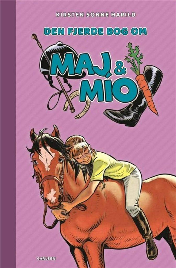 Maj & Mío, heltebog, hestebøger, Kirsten Sonne Harild,