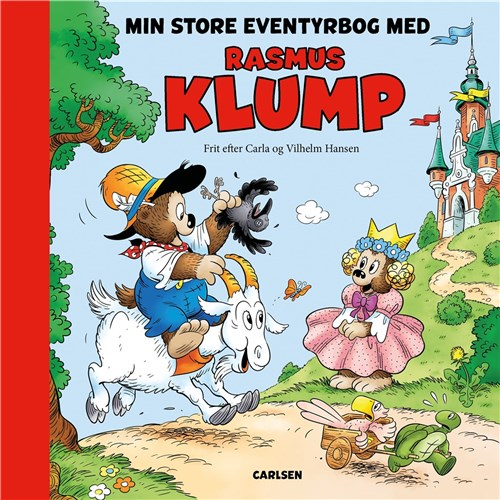 Min store eventyrbog med Rasmus Klump, Rasmus Klump, eventyrbog
