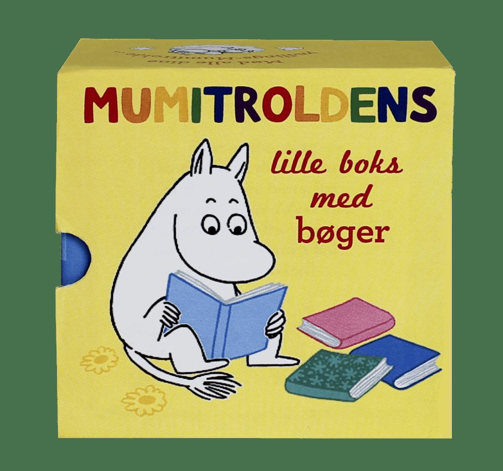 Mumitrolden, Mumitroldens lille boks med bøger