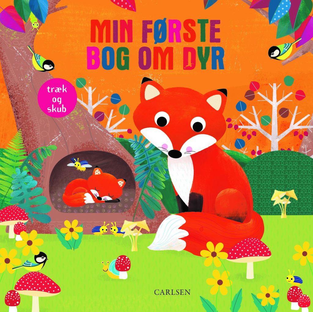 Min første bog om dyr, 2 årige, bøger til børn,