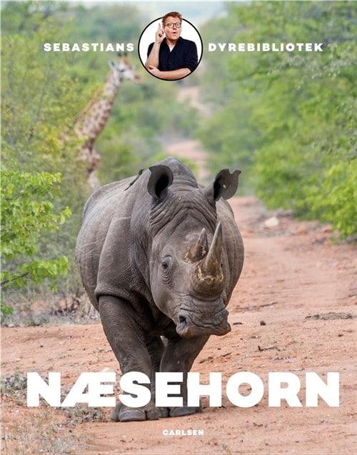 Næsehorn, Sebastians dyrebibliotek, populære bøger til små børn