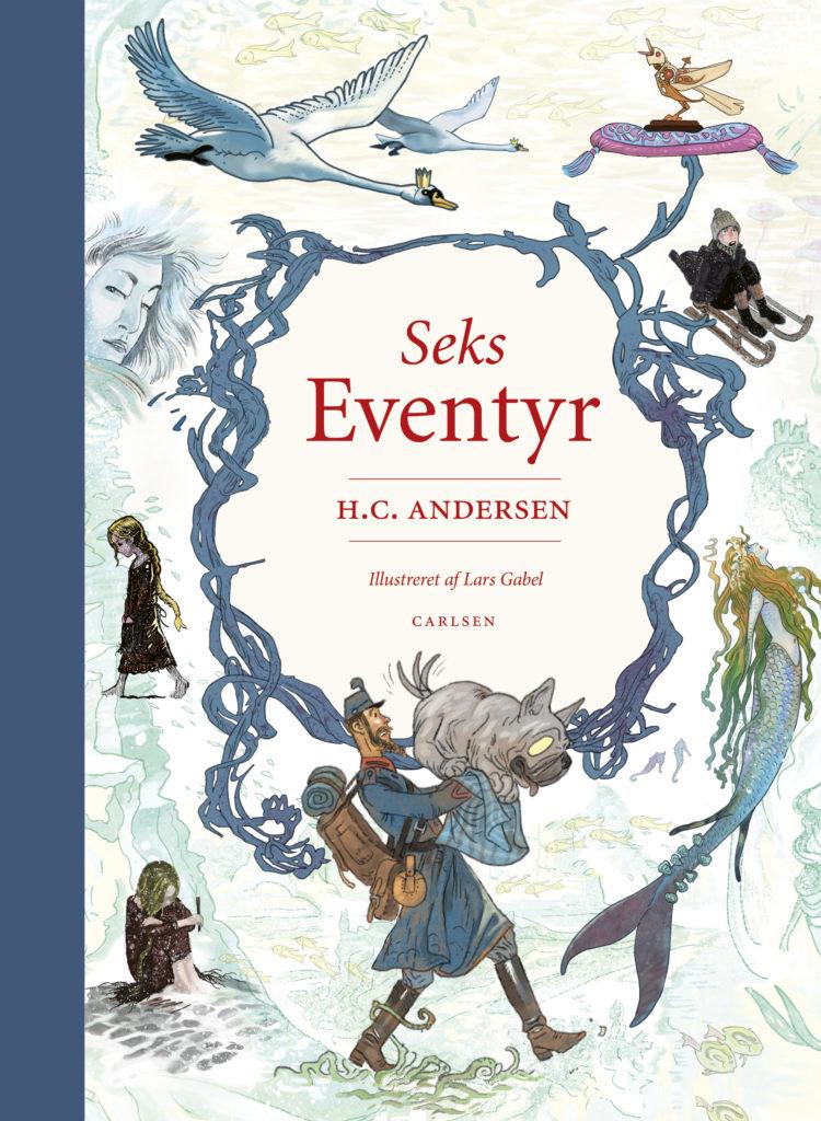 Seks eventyr, H.C. Andersen, populære bøger til små børn
