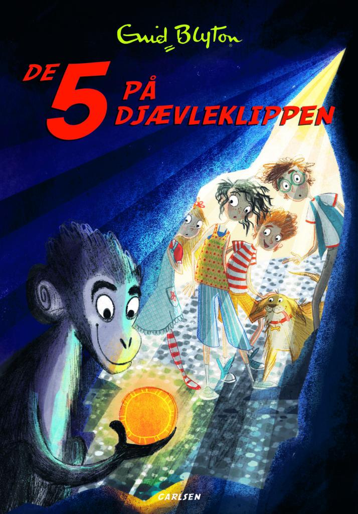 De 5 på djævleklippen, Enid Blyton