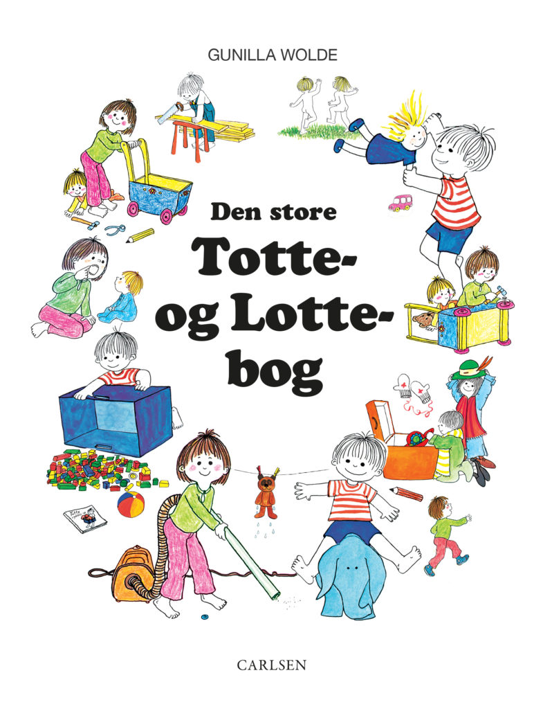 Den store Totte og Lotte bog, Gunilla Wolde