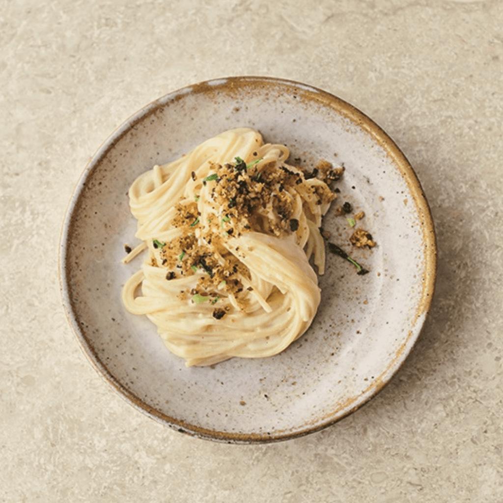 Pasta med blomkål og ost