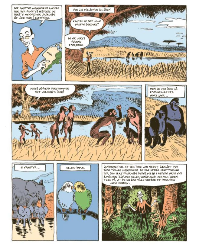Sapiens, Graphic History, Yuval Harari, David Vandermeulen, Daniel Casanave, Sapiens Menneskehedens fødsel, Homo Deus, 21 ting du bør vide om det 21. århundrede.