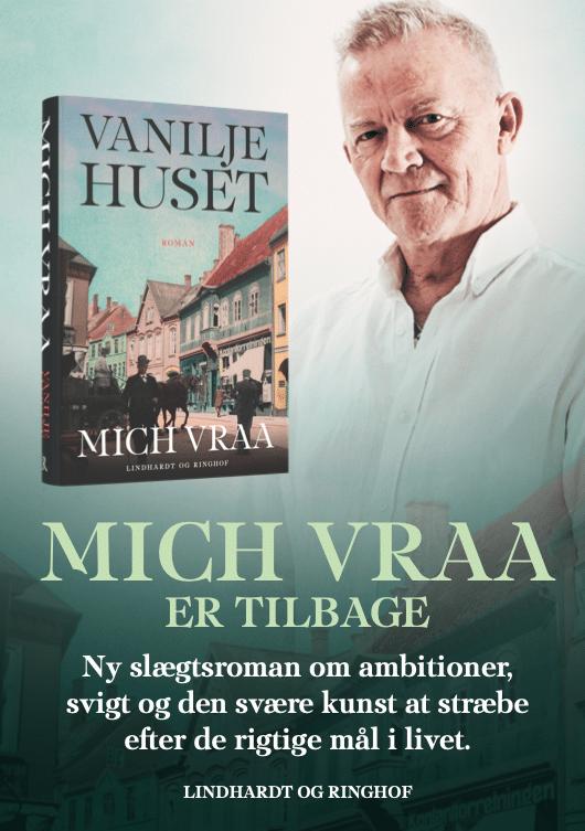 Mich Vraa Vaniljehuset historisk roman slægtsroman Odense